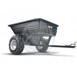 Тележка/Прицеп пластиковый для минитрактора (227 кг)