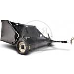 Щетка газонная с мусоросборником, 96см