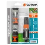 GARDENA Комплект базовый для быстрого наращивания шлангов