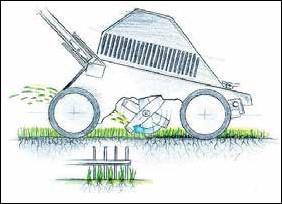 Вертикуттер для газона