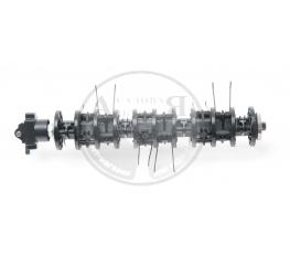 Вал со спицами для вертикуттеров MTD OPTIMA 34 VE, 37 VE