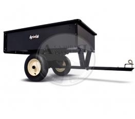 Тележка/Прицеп металлический для минитрактора (227 кг)