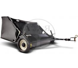 Щетка газонная с мусоросборником, 107см